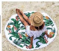 Коврик для пляжа и пикника с бахромой