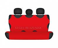 Майки на сиденья Kegel задние красные (1шт/комп)