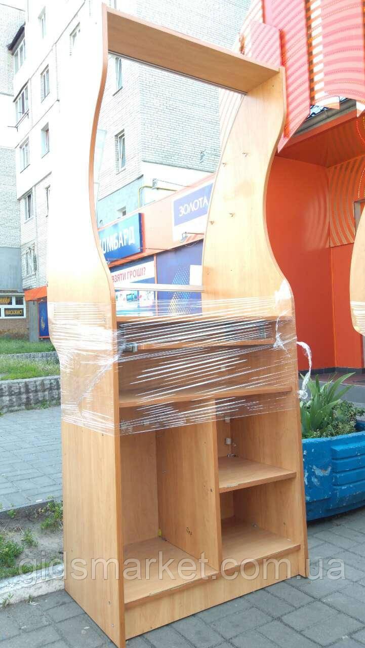 Витрина-прилавок ДСП б у, купить витрину для аптеки ДСП, мебель для аптек бу