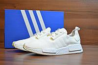 Белые Мужские Кроссовки Adidas NMD Runner арт. 1011