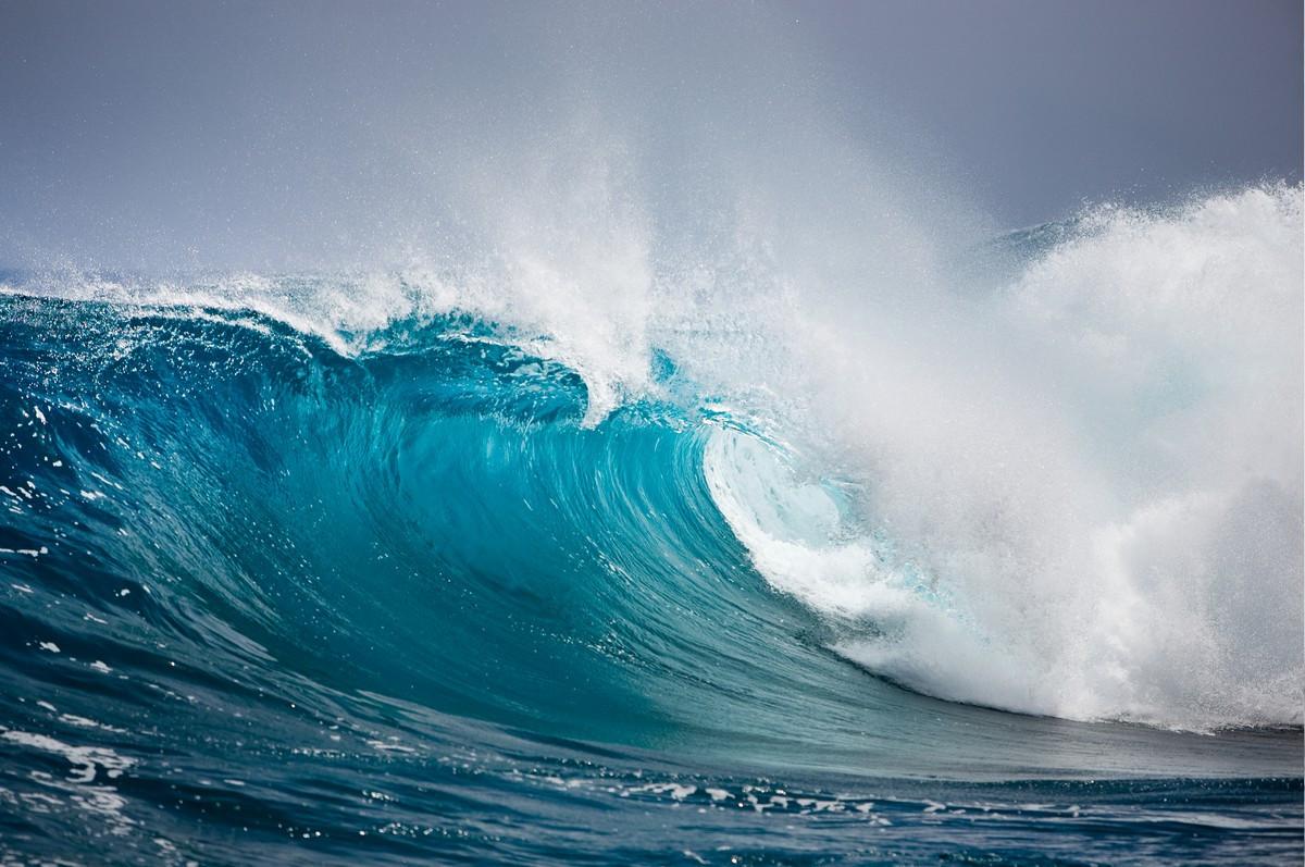 Фотообои: Могучая волна
