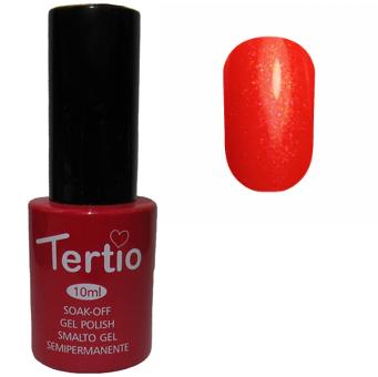 Гель-лак №088 (червоний з рожевим микроблеском) 10 мл Tertio