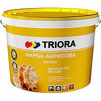 Краска Triora фасадная акриловая 1 л.