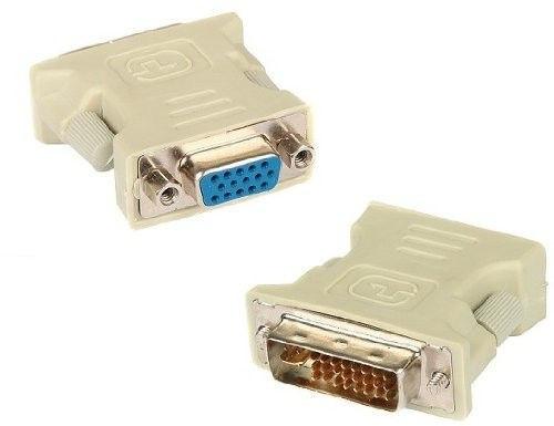 VGA - DVI-I 24+5 (M) адаптер переходник