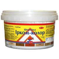 Шпаклевка по дереву Ирком-Колор ель (смерека) 0.35 кг