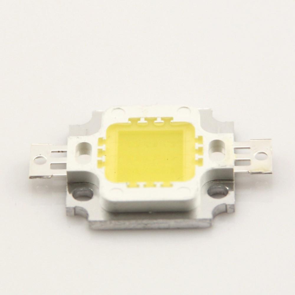 Светодиод 10Вт 10W 9-12В - холодный белый