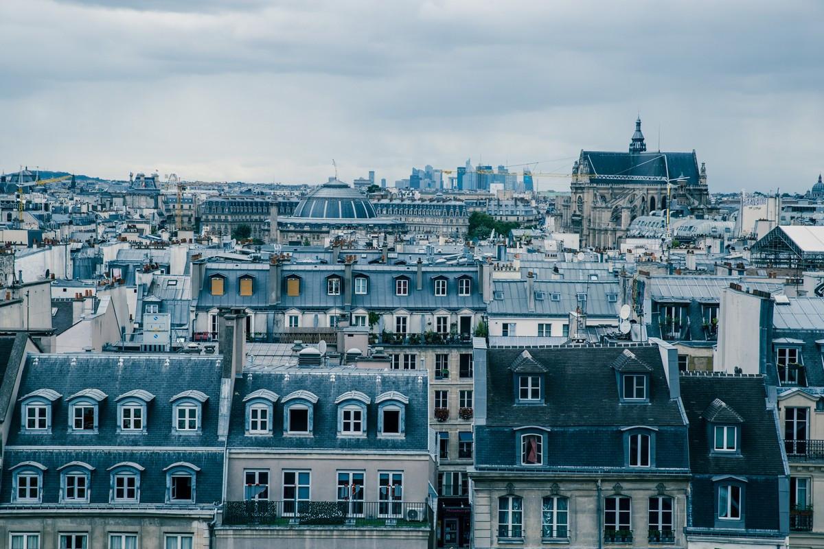 Фотообои Городские окна