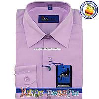 Рубашки для мальчика Однотонные школьный возраст (Ворот: 28- 36) (vk49-D)