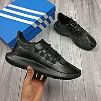 Черные Мужские Кроссовки Adidas арт. 1012, фото 1