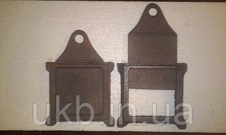 Задвижка дымохода 180*190 мм / Засувка димаря 180*190 мм, фото 2