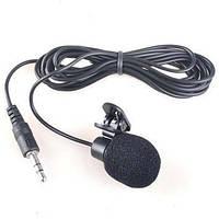 Мини микрофон с клипсой - jack 3.5