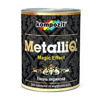 Эмаль Kompozit MetalliQ красное золото 0.9 л