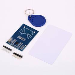 Arduino RFID-RC522 модуль +брелок +карта