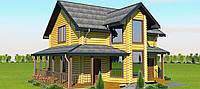 Продаётся экологически чистый дом из сруба под ключ 144 м2