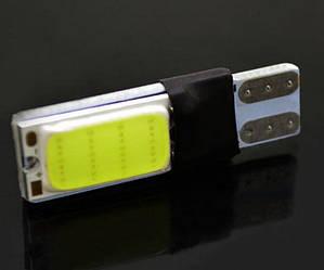 2 потужних LED t10 w5w no canbus лампочка