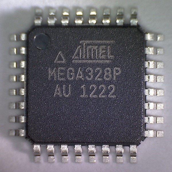 Мікросхема atmega328p-au, мікроконтролер AVR; Flash:32Кх8бит; EEPROM:1024Б; SRAM:2048Б