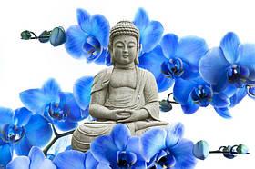 Фотообои Будда и орхидеи