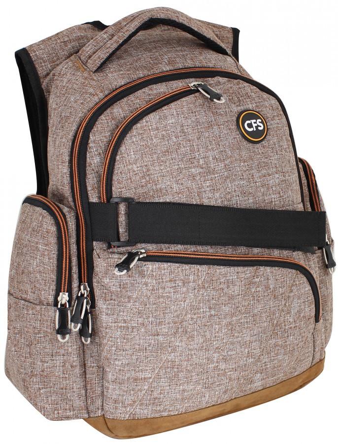 12cdc77e2b36 Школьный бежевый рюкзак 17