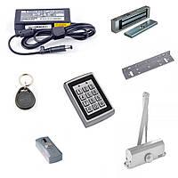 Комплект контроля доступа для дома, офиса с магнитным, ригельным, электромеханическим замком