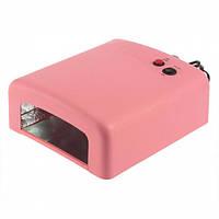 Ультрафиолетовая лампа W 818  36w (розовая)