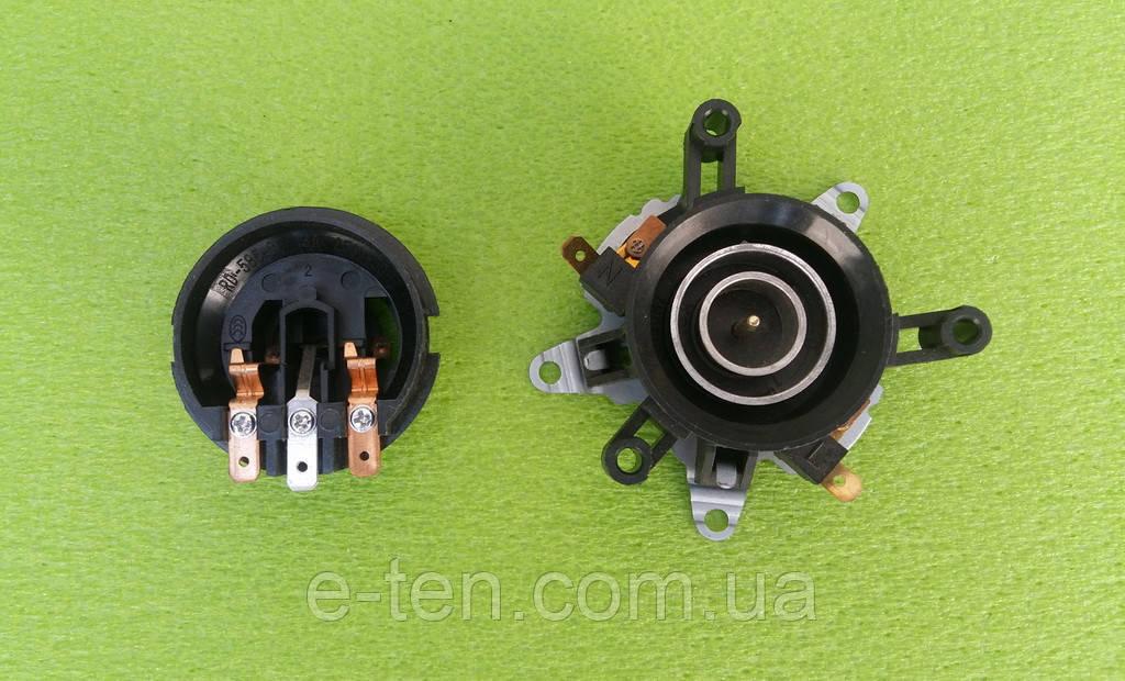 Контактная группа №4 / SL-168 (верх-низ) / 10А / 220V / Т125 (с двумя термопластинами) для электрочайников