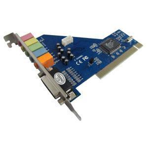 PCI звукова карта 4 каналу 5.1 SRS 3D