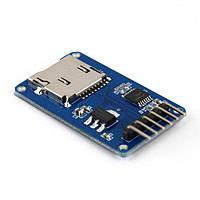 Arduino microSD кардридер