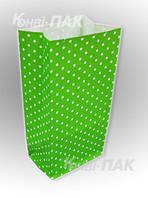 """Пакет для подарков """"Зеленый"""" 190х95х65"""