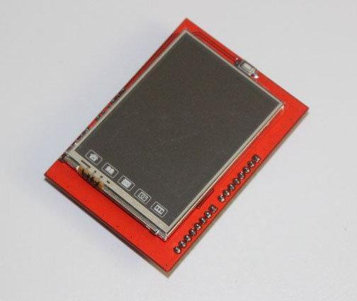 2.4 TFT touch LCD Экран (сенсорный дисплей) +MicroSD для Arduino