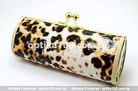 1 Футляр чехол кошелек для очков леопардовый