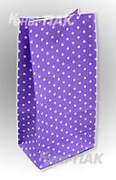 """Пакет для подарков """"Фиолетовый"""" 190х95х65"""