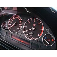 Кольца рамки на приборы BMW E39 мат