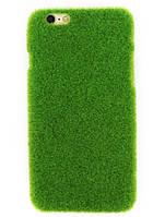 Чехол Shibaful с искусственной травой для iPhone 5/5s/SE