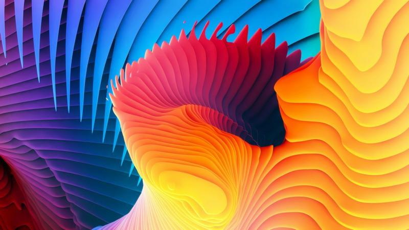 3D фотообои: Расслоение