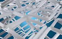 3D фотообои: Рамки в пространстве