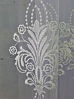 Тюль  декоративная кремовая
