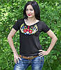 """Красивая футболка вышиванка для женщин """"Колосок"""", фото 3"""