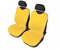 Майки на сиденья Kegel передние желтые (2шт/комп)