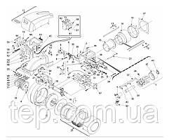 Запасные части к горелке Riello RS 300-400-500M BLU