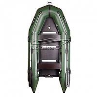 Лодка Барк BT-310SD (Трехместная моторная, килевая со сплошным разборным настилом, передвижные сидения, комплект)