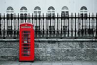Фотообои Телефонная будка