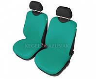 Майки на сиденья Kegel передние зеленые (2шт/комп)