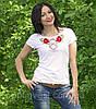 Национальная футболка маки белая, фото 5