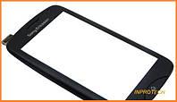 Сенсор (тачскрин) Sony Ericsson CK15i Txt Pro с рамкой Black Original