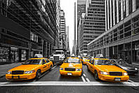 Фотообои: Такси Нью-Йорка