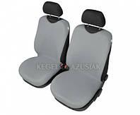 Майки на сиденья Kegel передние светло-серые (2шт/комп)