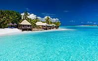Фотообои Домики на Фиджи