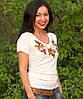 """Женская футболка с вышивкой """" Месик"""", фото 4"""