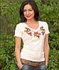 """Женская футболка с вышивкой """" Месик"""", фото 5"""