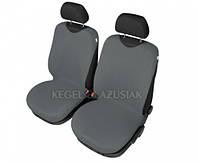 Майки на сиденья Kegel передние серые (2шт/комп)